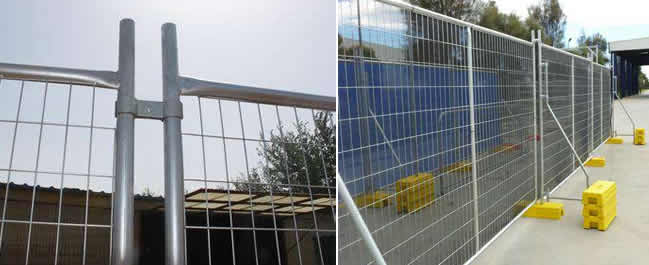 Safety Construction Temporary Fencing For Sites