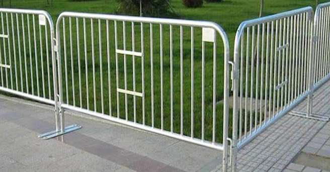 Galvanised Fencing Mobile Fencing Mesh And Steel Tube